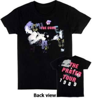 Cure, The: T-shirts (Mens) - The Prayer Tour 1989