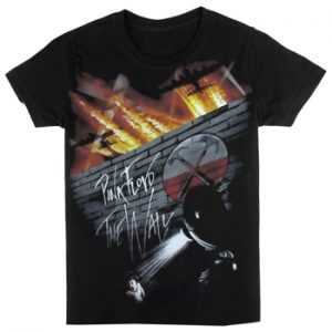 Pink Floyd: T-shirts (Mens) - Outside the Wall