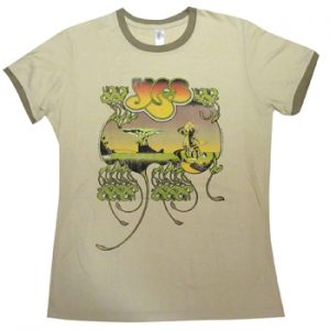 Yes: T-shirts (Mens) - Songs