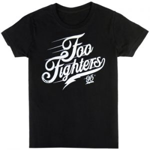 Foo Fighters: T-shirts (Mens) - Script Logo