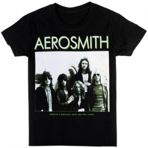 Aerosmith: T-shirts (Mens) - America's Greatest RNR Band