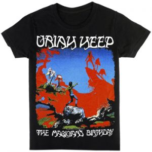 Uriah Heep: T-shirts (Mens) - The Magicians Birthday