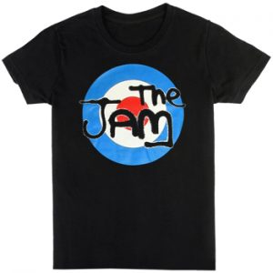 Jam, The: T-shirts (Mens) - Spray Target Logo