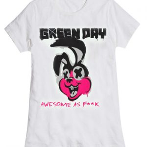 Green Day: T-shirts (Ladies) ? Road kill-Awesome as F**k