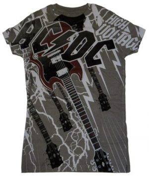 AC/DC: T-shirts (Ladies) - High Voltage