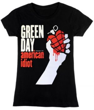 Green Day: T-shirts (Ladies) - American Idiot