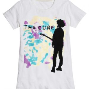 Cure, The: T-shirts (Ladies) - Boys Don't Cry White