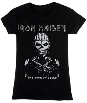 Iron Maiden: T-shirts (Ladies) - The Book of Souls