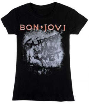 Bon Jovi: T-shirts (Ladies) - Slippery When Wet Album