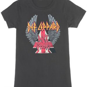 Def Leppard: T-shirts (Ladies) - Rock Of Ages