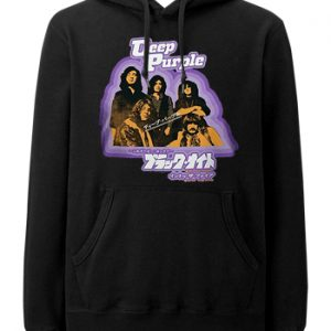 Deep Purple: Hoodie - Black Night Japan
