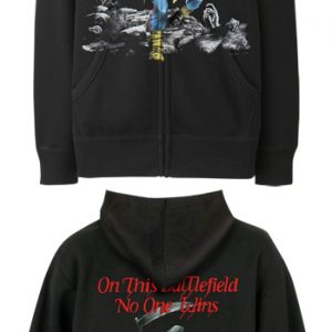 Iron Maiden: Zipped Hoodie - Scuffed Trooper(Back Print)