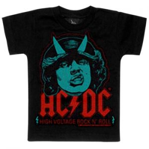 AC/DC: Baby & Kids Wear - High Voltage Kids T-shirt