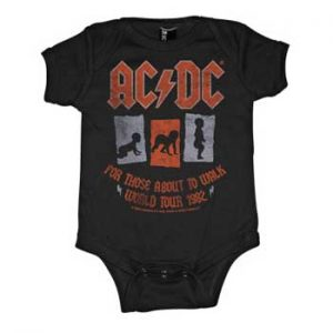 AC/DC: Baby & Kids Wear - For Those About To Walk Baby Body Suit
