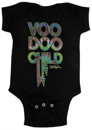 Jimi Hendrix: Baby & Kids Wear - Voodoo Child Baby Body Suit