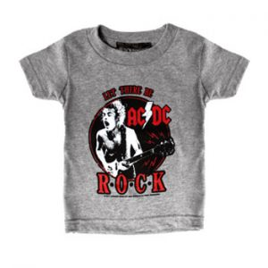 AC/DC: Baby & Kids Wear - Grey Rock Kids T-shirt