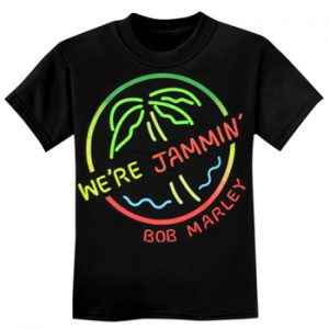 Bob Marley: Baby & Kids Wear - Jammin Kids T-shirt