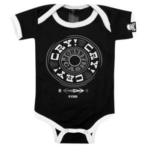 Johnny Cash: Baby & Kids Wear - Cry Cry Baby Body Suit