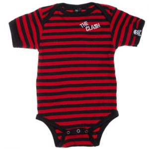 Clash, The: Baby & Kids Wear - Stripe Baby Body Suit