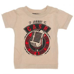 Johnny Cash: Baby & Kids Wear - Daddy Sang Bass Kids T-shirt