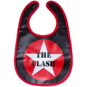 Clash, The: Baby & Kids Wear - Star Logo Bib