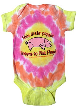 Pink Floyd: Baby & Kids Wear - This Little Piggy Baby Body Suit