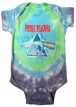 Pink Floyd: Baby & Kids Wear - Oil Paint Baby Body Suit