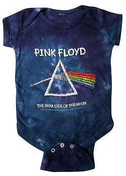 Pink Floyd: Baby & Kids Wear - D.S. Chalk Baby Body Suit