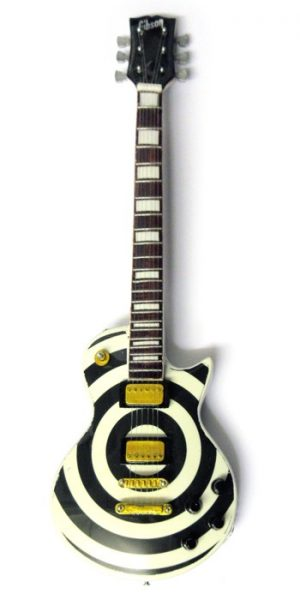 Miniature Guitar - Zakk Wylde Les Paul