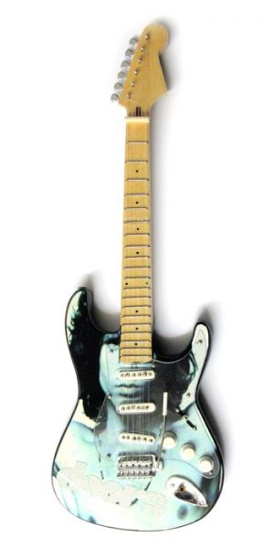 Doors, The: Miniature Guitar - Jim Morrison Stratocaster
