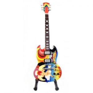 Eric Clapton: Miniature Guitar - Psychedelic SG