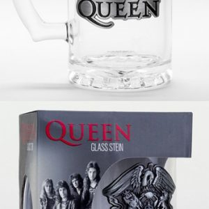 Queen: Glass - Crest Beer Glass