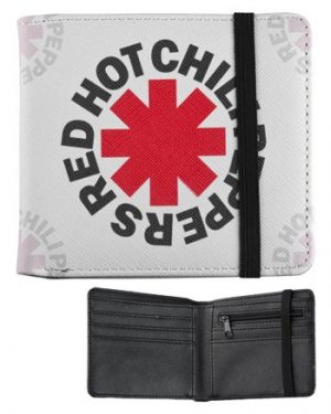 Red Hot Chilli Peppers: Wallet - White Asterisk