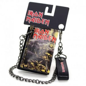 Iron Maiden: Wallet - Sanctuary Trifold Chain Wallet