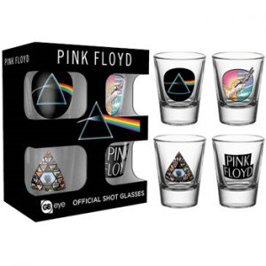 Pink Floyd: Glasses - 2 oz.Shot Glass Set