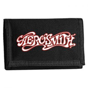 Aerosmith: Wallet - Red Logo Velcro wallet