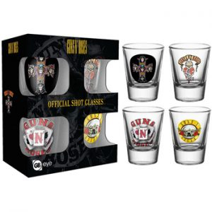 Guns N' Roses: Glasses - 2 oz.Shot Glass Set