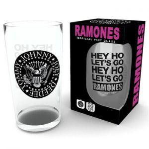 Ramones: Glass - Seal Pint Glass