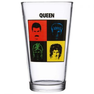 Queen: Glass - Faces Pint Glass