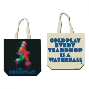 Coldplay: Tote Bag - Blurred Man