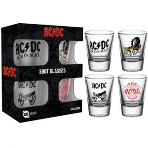 AC/DC: Glasses - 2 oz.Shot Glass Set