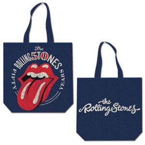 Rolling Stones, The: Cotton Tote - 50th Anniversary