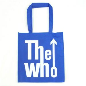 Who, The: Eco Shopper - Logo Blue
