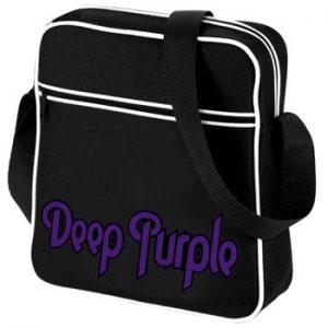 Deep Purple: Flight Bag - Purple Logo