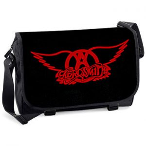 Aerosmith: Messenger Bag - Red Logo