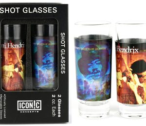 Jimi Hendrix: Glasses - 2 Piece Shot Glass Set (Album Covers)
