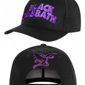 Black Sabbath: Baseball Cap - Purple Logo