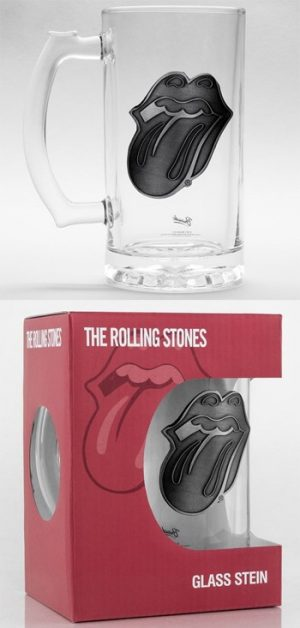 Rolling Stones, The: Glass - Tongue Beer Glass