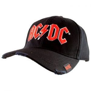AC/DC: Baseball Cap - Red Logo