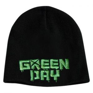 Green Day: Beanie - Green Logo